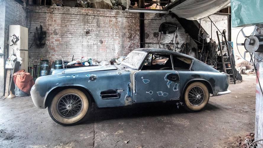 Barn Finds Still Exist: Michelotti Jaguar, Ferrari, And More