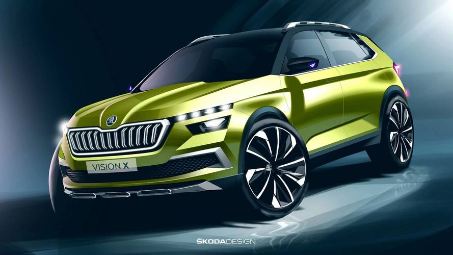 Skoda To Launch 19 Cars In Two Years, Including Vision X In 2019