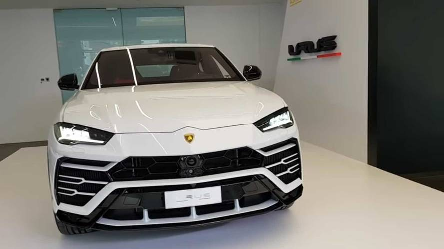 Most kívül-belül alaposan szemügyre veheted a Lamborghini Urust