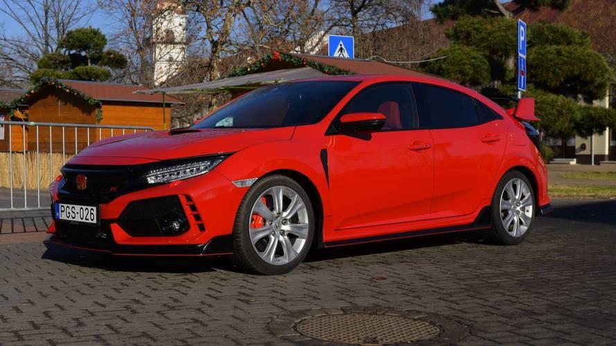Honda Civic Type R teszt