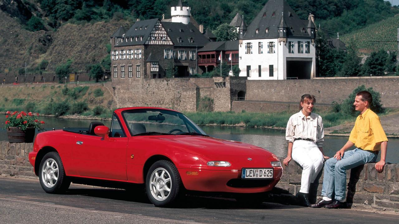 Mazda MX-5 (1990): die Rückkehr des Roadsters