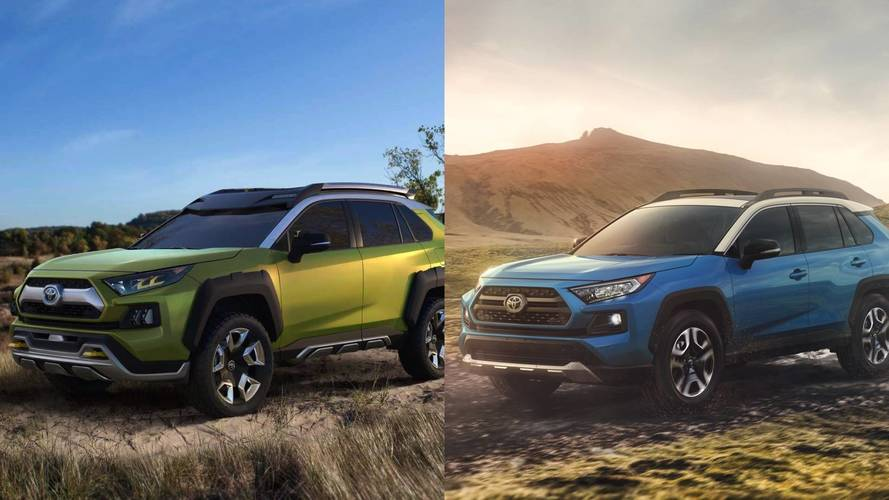 2019 Toyota RAV4: See The Changes Side-By-Side