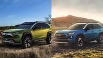 Comparativa Toyota RAV4 vs. Toyota FT-AC