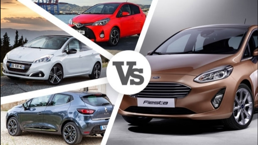 Nuova Ford Fiesta contro tutte