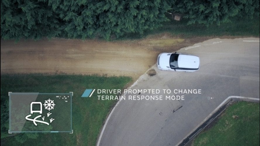 Land Rover, autonomous driving in fuoristrada