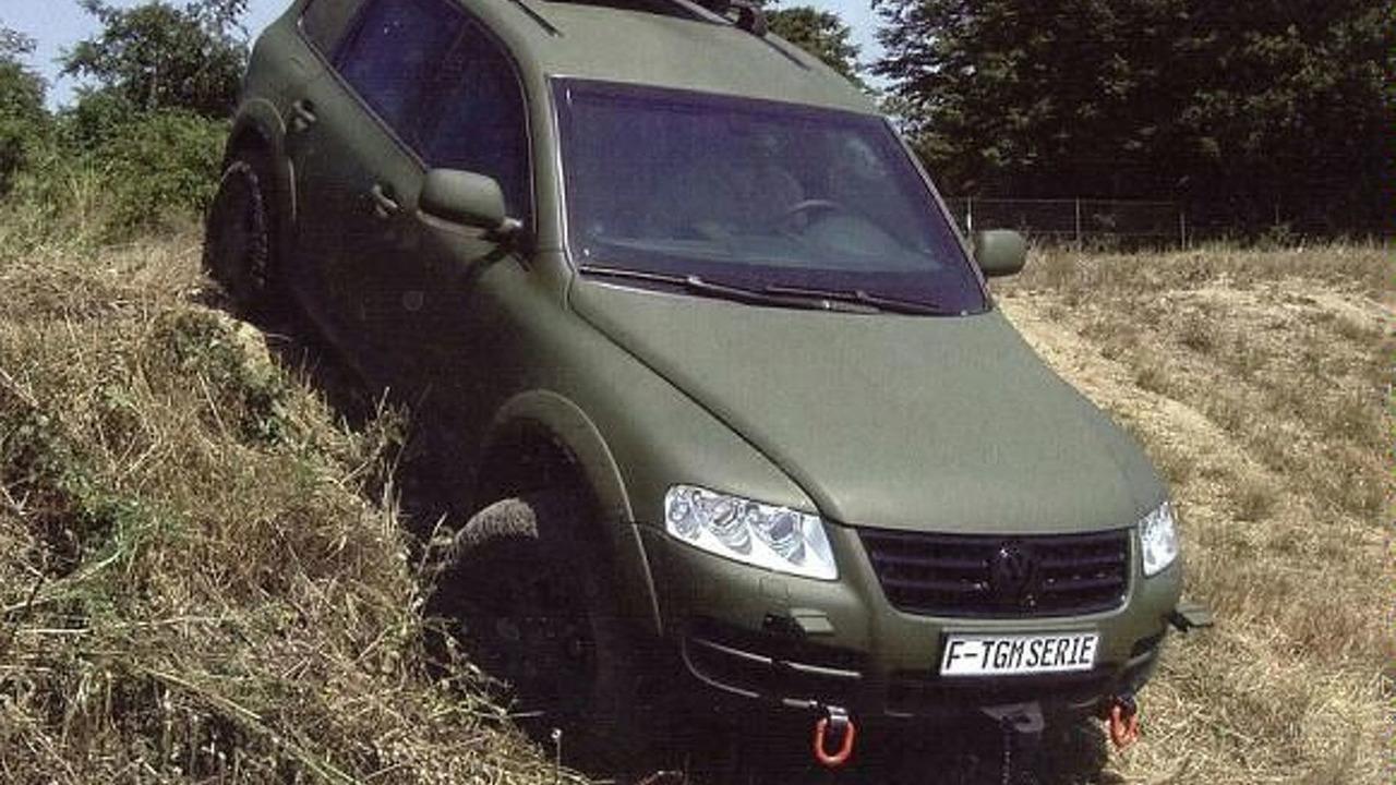 Volkswagen Touareg Military Version