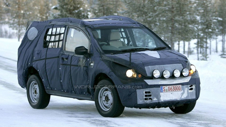 Tata Safari Spy Photos