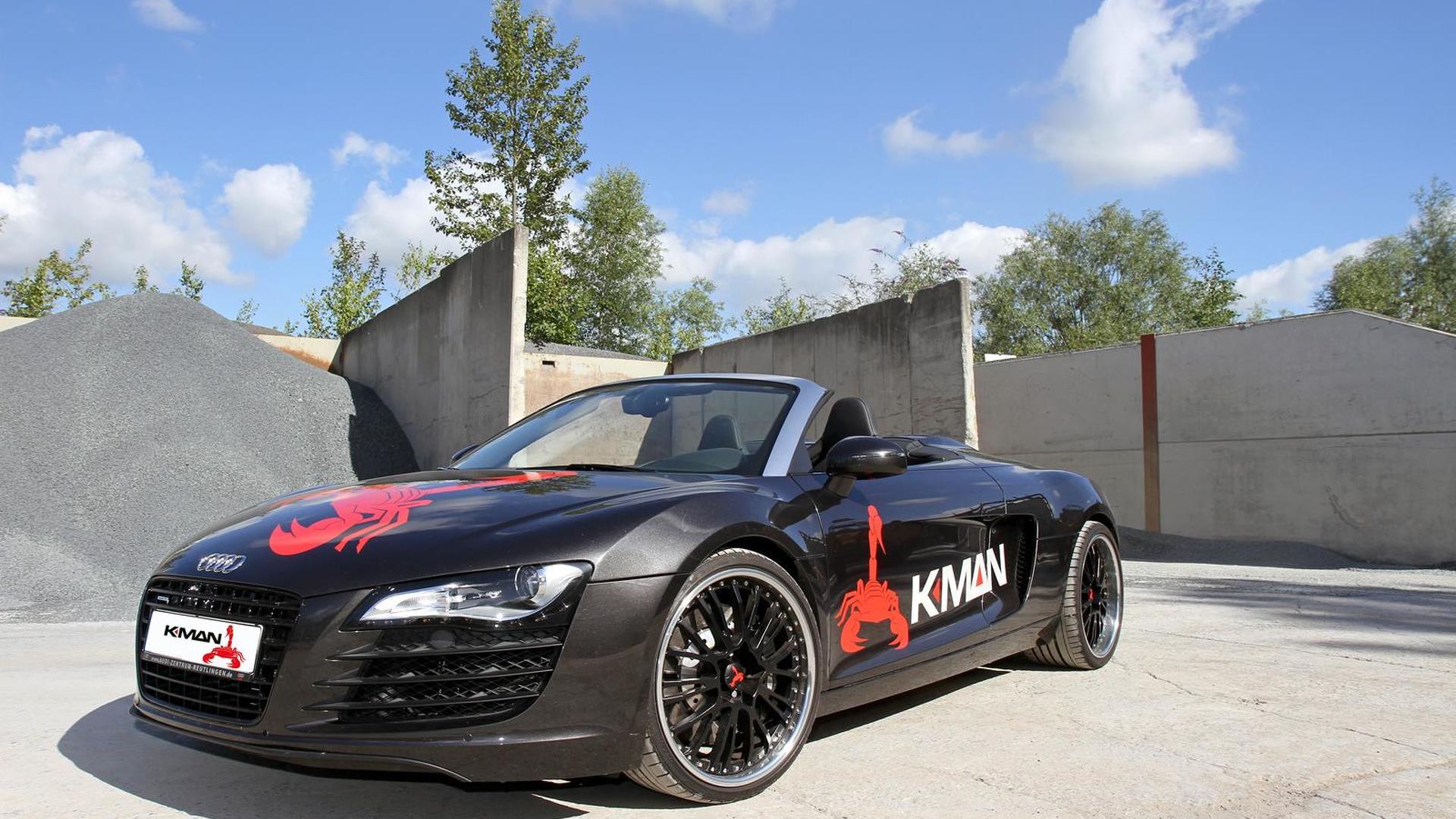 Тюнинг Audi R8 V10 от K.MAN