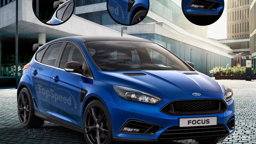 Ford Focus RS & Shelby Mustang GT350R get rendered ahead of a possible Detroit debut
