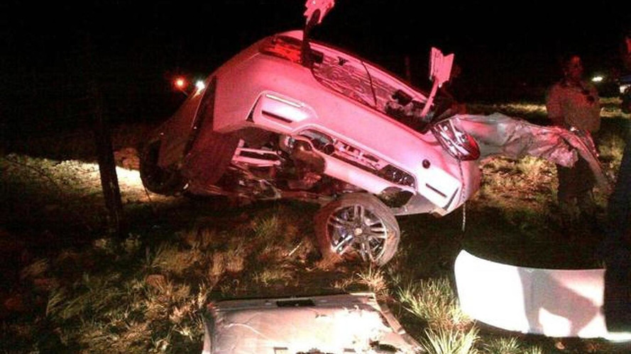 BMW M3 F80 driver survives after horrifying crash