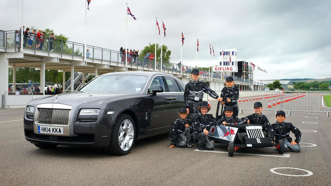 Rolls-Royce EV for the Greenpower IET Formula Goblin race