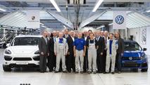 Porsche Cayenne production announcement at VW Osnabrück plant