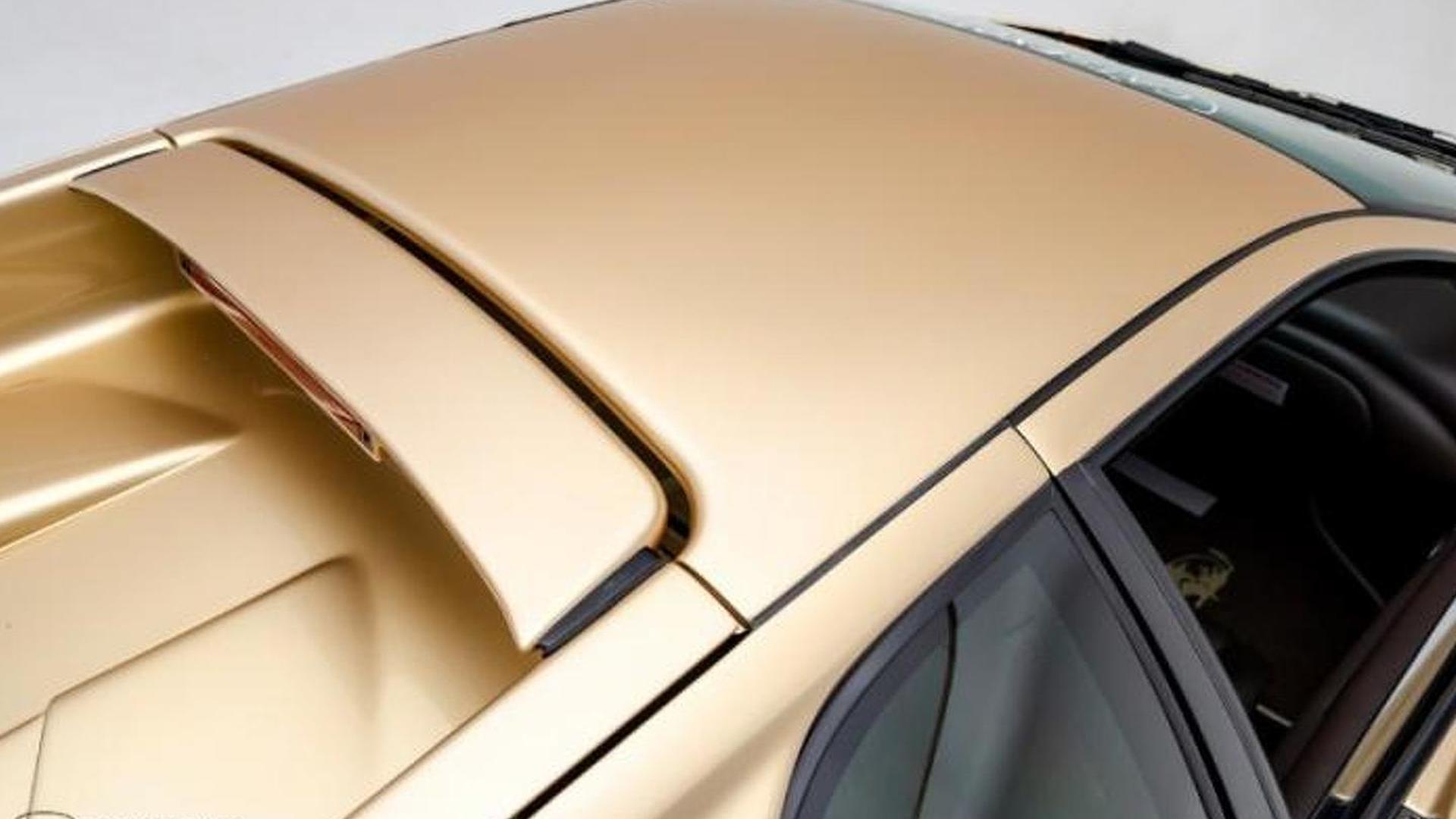 Золотистый Lamborghini Diablo 6.0 SE