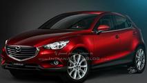 Mazda CX-3 render