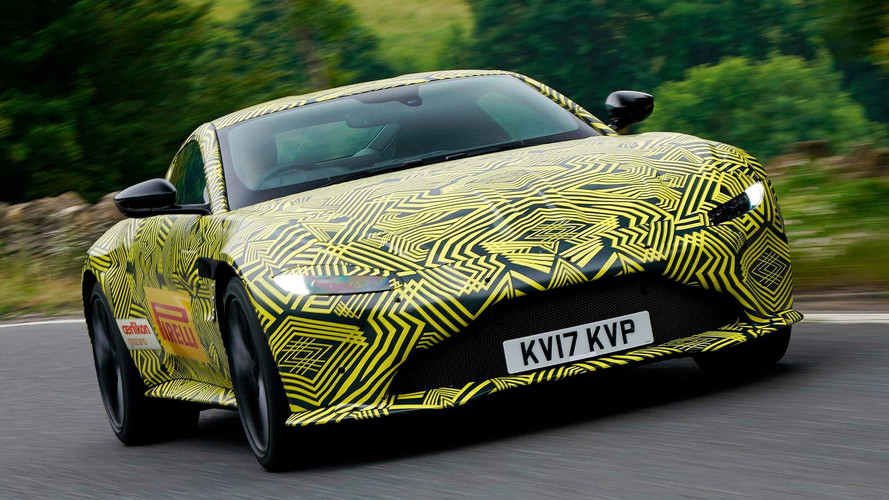 New Aston Martin Vantage Images Emerge