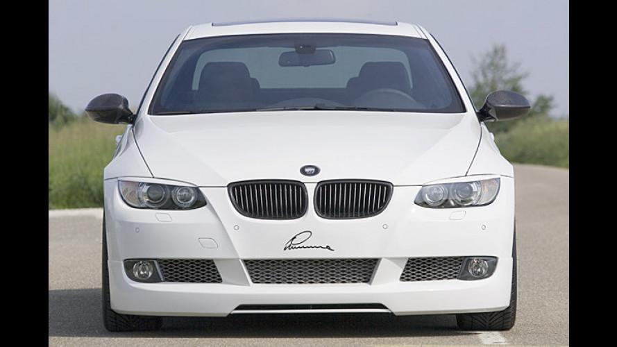 Abgesenkt und rausgeputzt: Lumma tunt BMW 3er Coupé