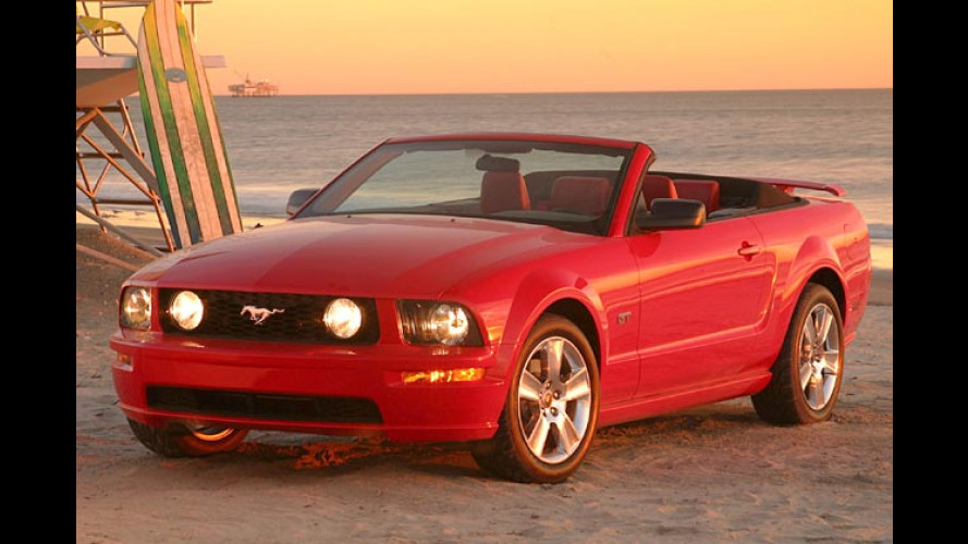 Ungedeckter Mustang: Ford bringt den Renner als Cabrio