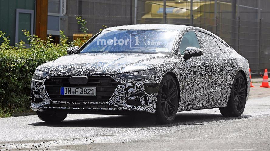 Audi A7 Sportback 2018: nuevas fotos espía