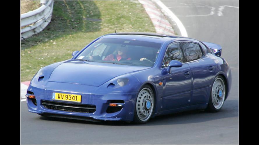 Getarnt erwischt: Der neue Luxus-Porsche Panamera