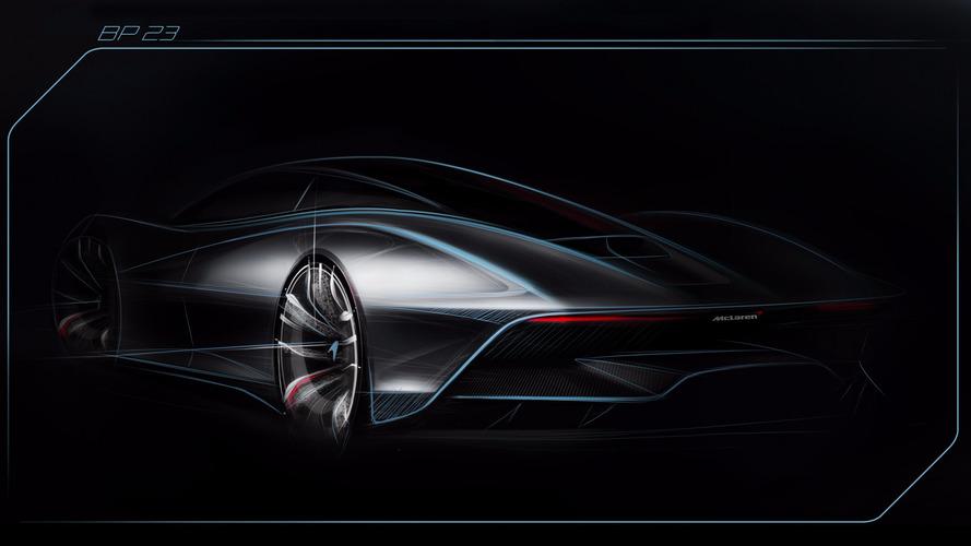 Première esquisse de l'héritière de la McLaren F1