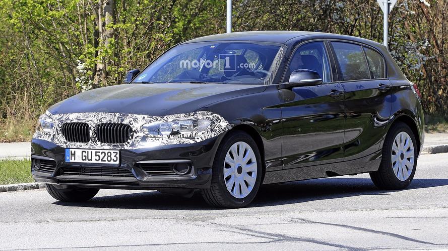 Photos espion - Léger lifting pour la BMW Série 1