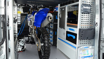 Yamaha YZ450F inside Vauxhall Vivaro Race Van Concept