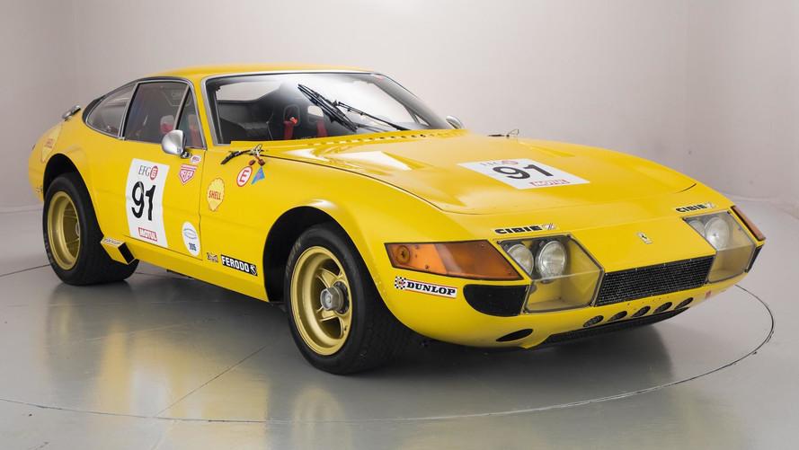 Yarışa hazır Ferrari Daytona satışta