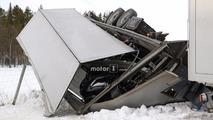 Porsche 911 transporter crash