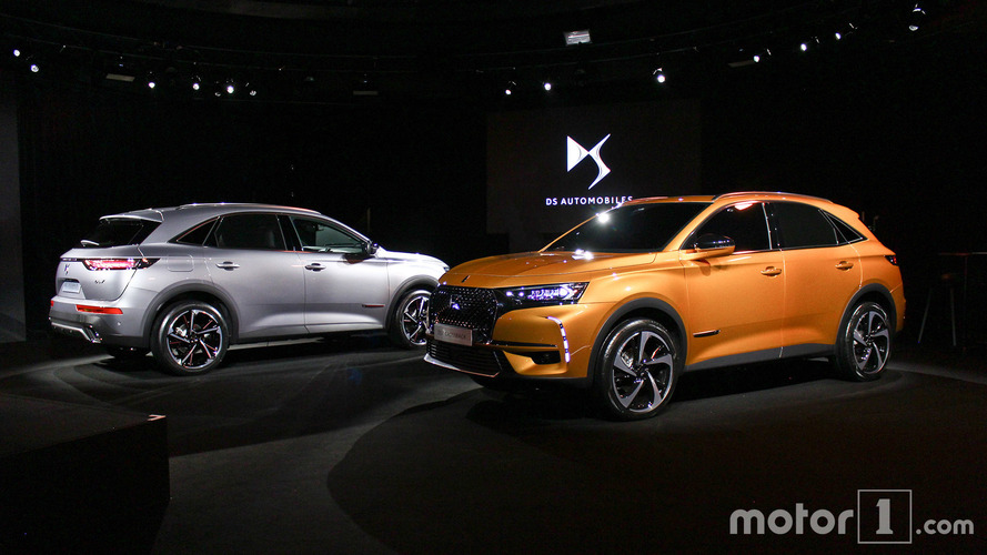 DS 7 Crossback - Nos photos de la présentation officielle
