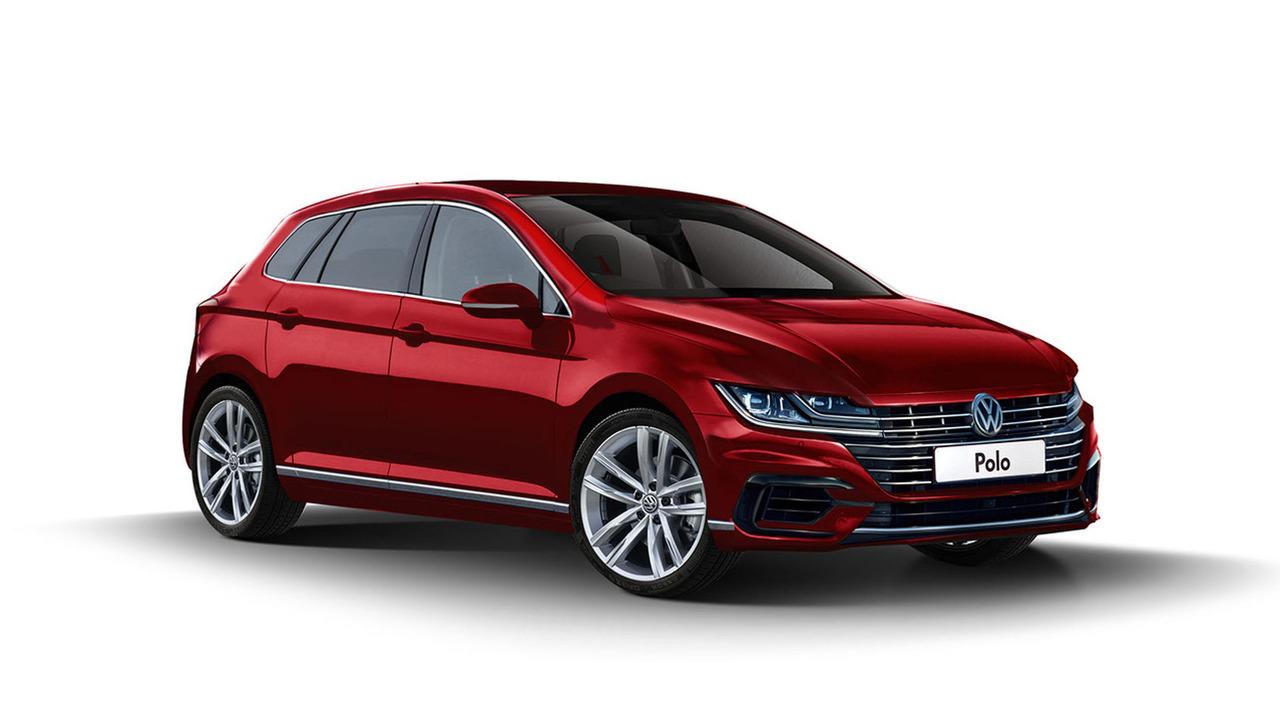 2018 VW Polo tasarım çalışması