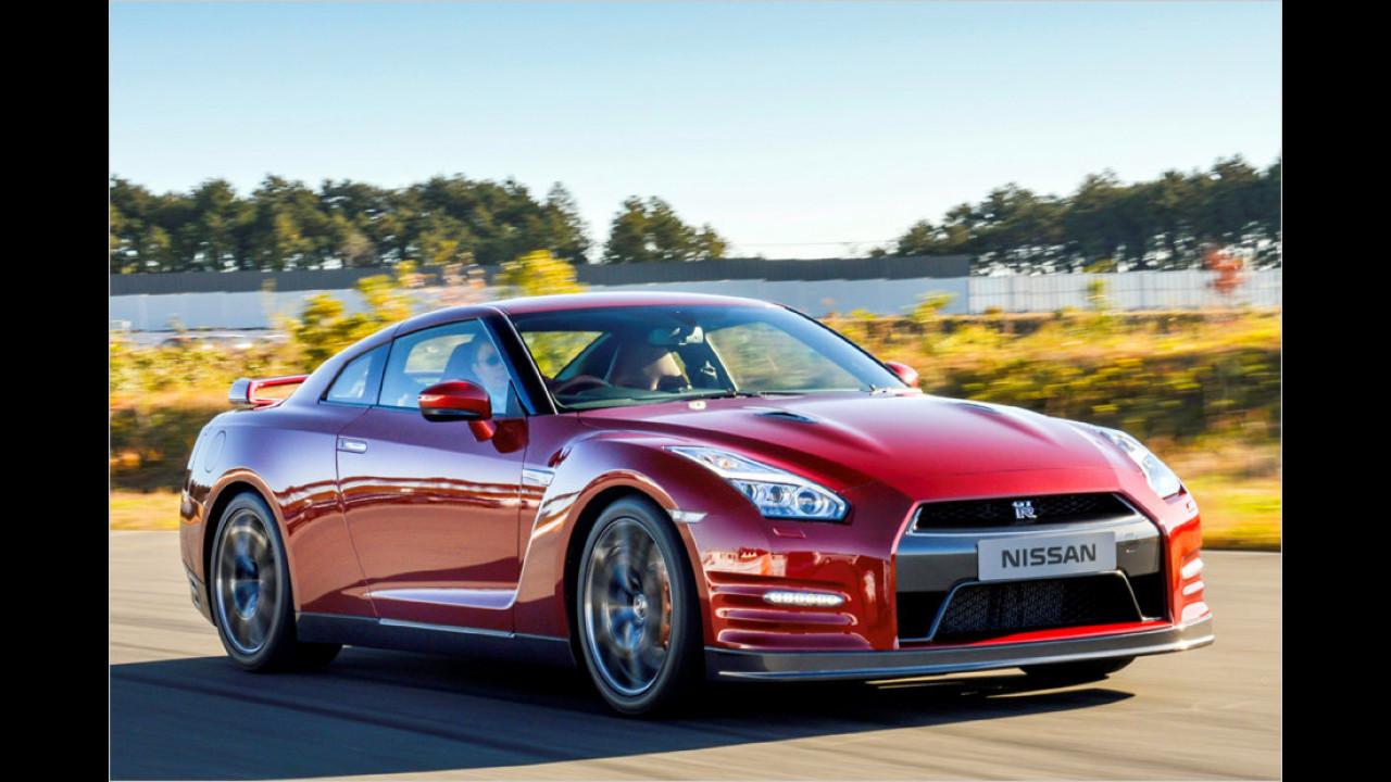 7. Platz: Nissan GT-R