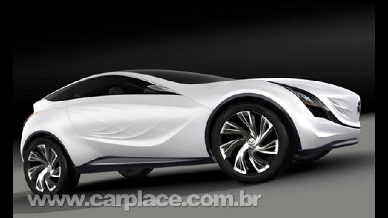 Kazamai Concept adianta linhas do futuro crossover compacto da Mazda