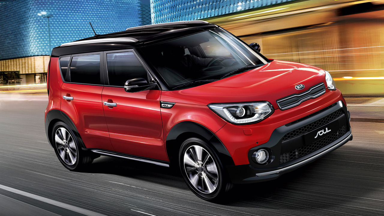 2017 Kia Soul (European-Spec)