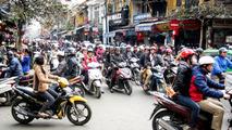 Hanoi motorcycle traffic / Simon Morris