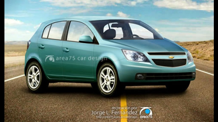 Novo Chevrolet Viva - Argentino faz nova projeção do substituto do Corsa