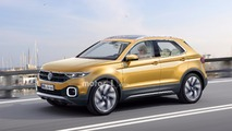 Volkswagen Polo SUV rendu