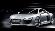 Veja o comercial da Audi - The R8: The Slowest Car Audi Ever Built