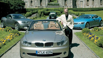 Chris Bangle with CS1, X-Coupe and Z9 concept cars