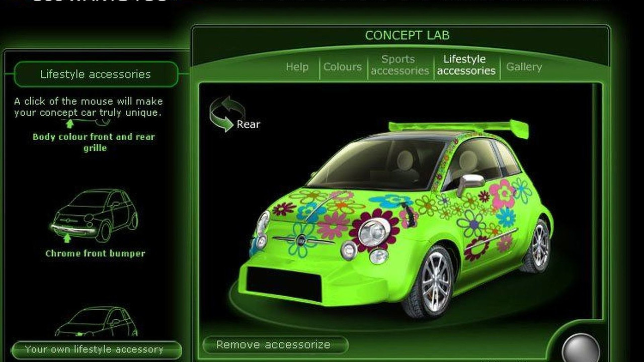2007 Fiat 500 - 500 Wants You website