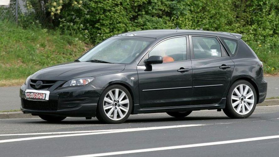 Mazda 3 MPS Spy Photos