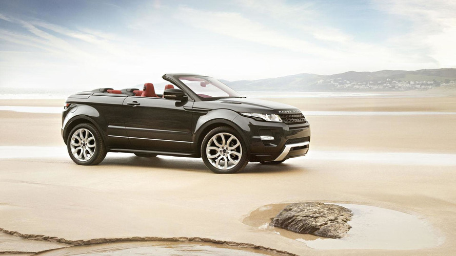 Range Rover Evoque Cabrio could come as early as next year