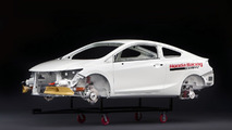 2012 Civic Coupe HPD Body-In-White for SEMA - 2.11.2011