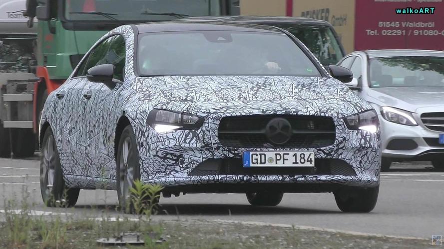 2019 Mercedes CLA casus kameralara yakalandı