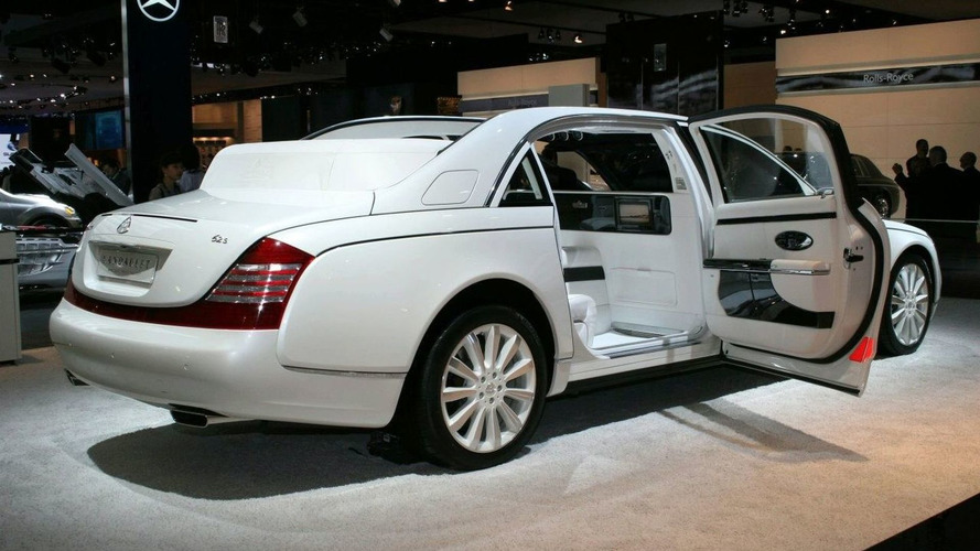 Maybach Landaulet Study Shows Up in Detroit