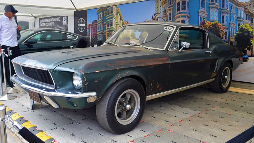 Bullitt Mustang at the Goodwood Festival of Speed