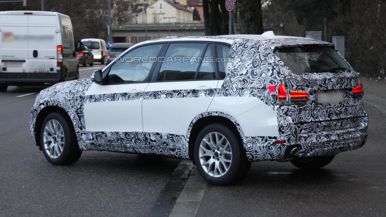 2014 BMW X5 spy photo 19.12.2012 / Automedia