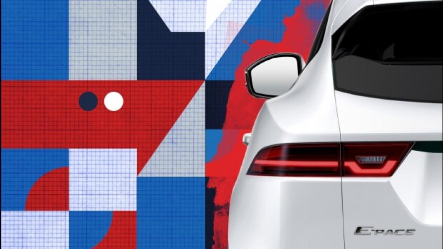 Jaguar E-Pace, il primo teaser del SUV compatto sportivo