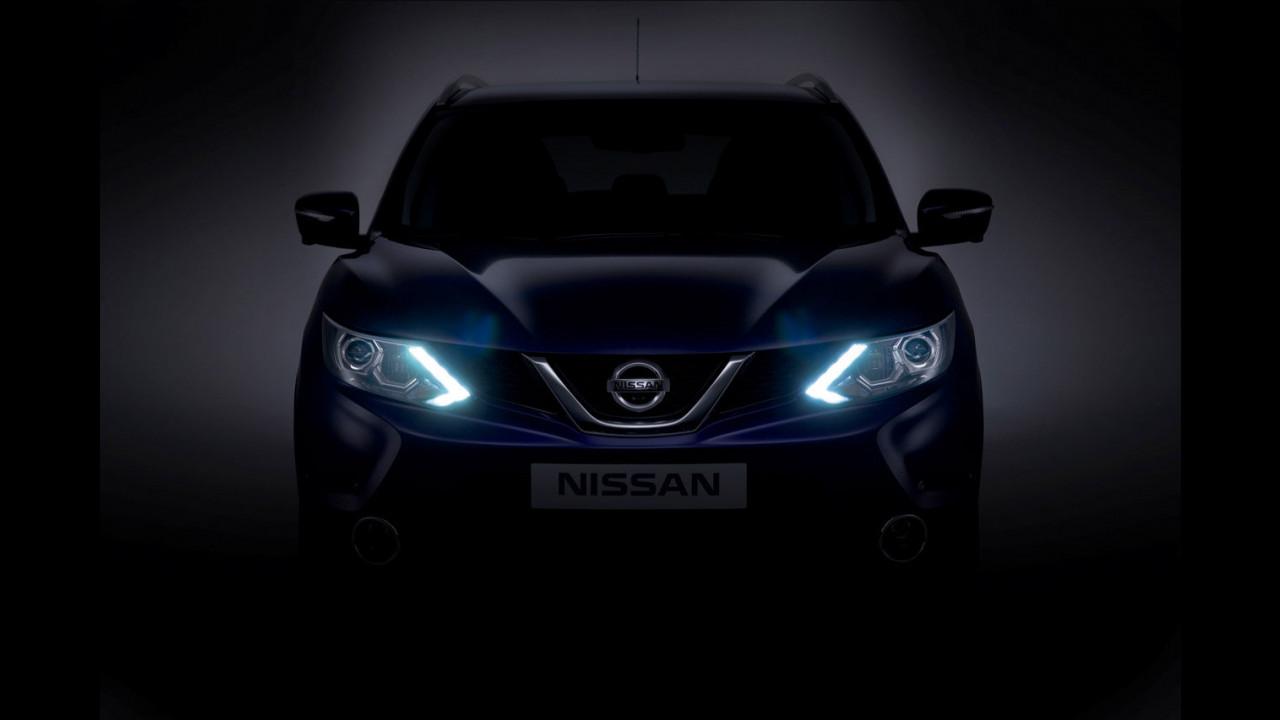 Nuovo Nissan Qashqai. Il frontale