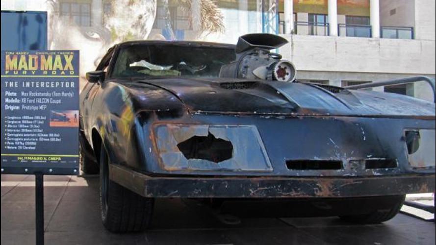 Mad Max: Fury Road, le auto dal vivo a Napoli