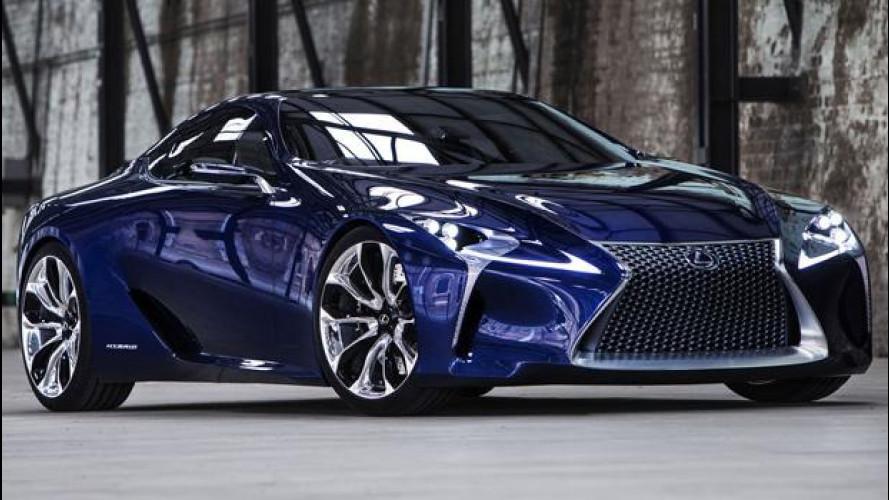 BMW e Toyota preparano una supercar a motore centrale